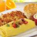 Elmer's Denver & Tillamook® Cheddar Omelet